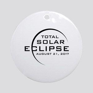Total Solar Eclipse 2017 Ornament (Round)
