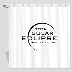 Total Solar Eclipse 2017 Shower Curtain