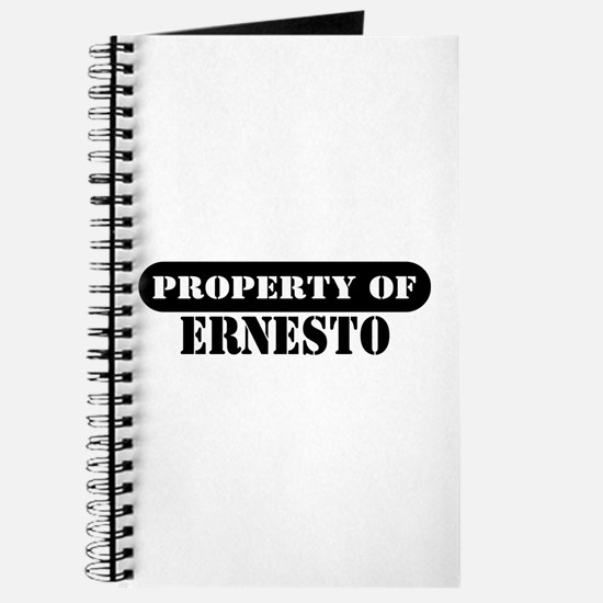 Property of Ernesto Journal