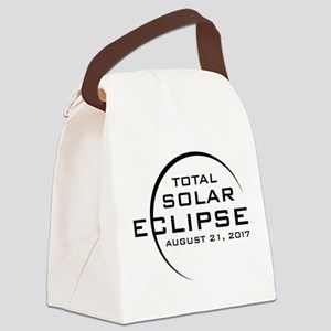 Total Solar Eclipse 2017 Canvas Lunch Bag