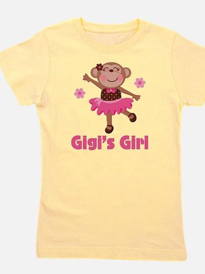 Gigi's Girl monkey Girl's Tee