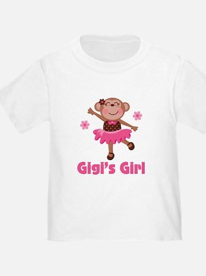 Gigi's Girl monkey T