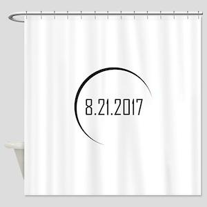 2017 Eclipse Shower Curtain