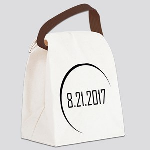 2017 Eclipse Canvas Lunch Bag