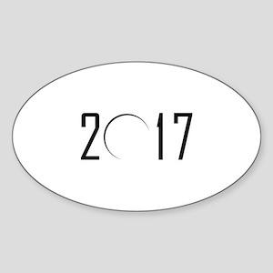 2017 Eclipse Sticker (Oval)