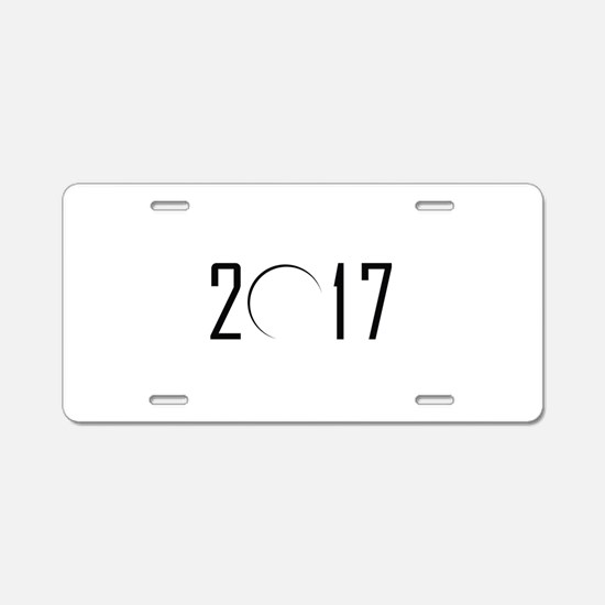 2017 Eclipse Aluminum License Plate