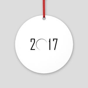2017 Eclipse Ornament (Round)