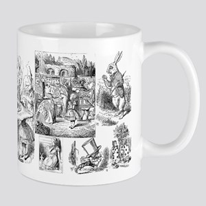 Alices Adventures in Wonderland Mugs
