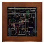 Assimilated Trekkie Decor Framed Tile