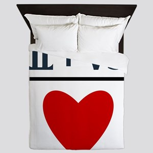 Gemini + Capricorn = Love Queen Duvet