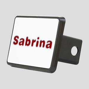 Sabrina Santa Fur Rectangular Hitch Cover