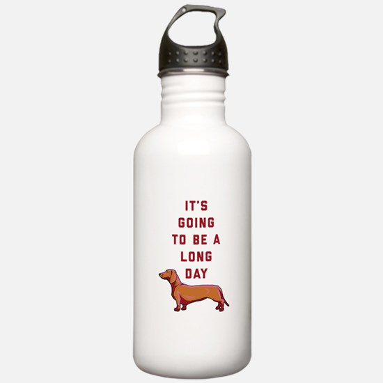 It's Going To Be A Lon Water Bottle