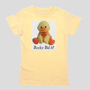 Ducky Did it! Ash Grey T-Shirt