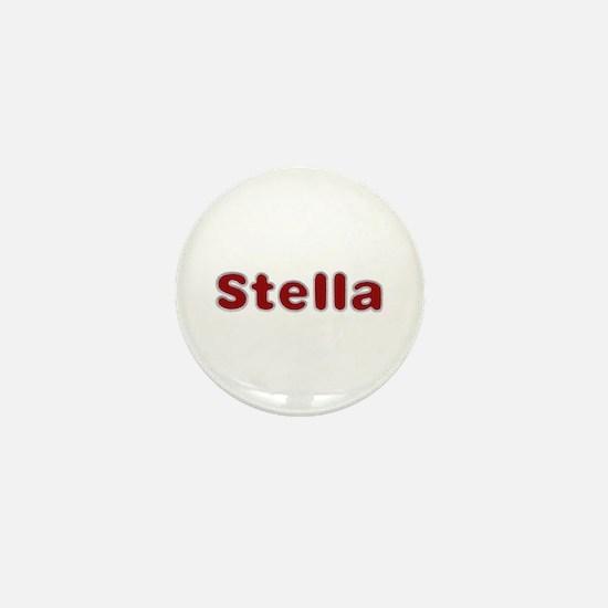 Stella Santa Fur Mini Button
