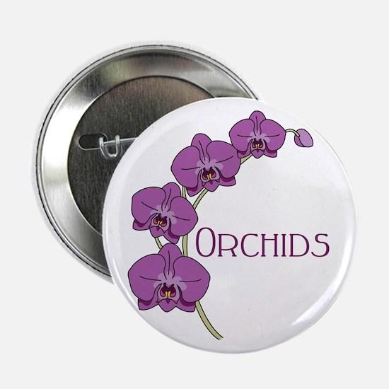 """Orchids 2.25"""" Button"""