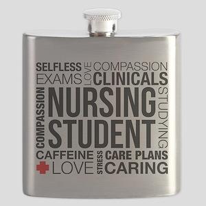 Nursing Student Word Cloud Flask