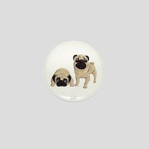 Pugs Mini Button