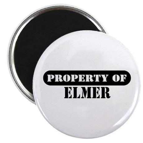 Property of Elmer Magnet