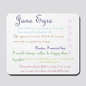 Jane Eyre Quotes Mousepad