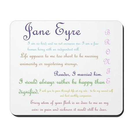 Jane Eyre Quotes Mousepad