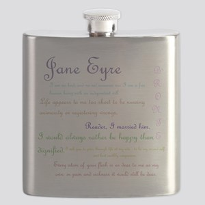 Jane Eyre Quotes Flask