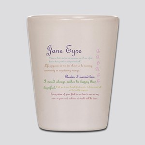 Jane Eyre Quotes Shot Glass
