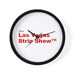 The Las Vegas Strip Show Tm Wall Clock