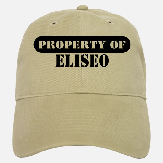 Property of Eliseo Baseball Baseball Cap