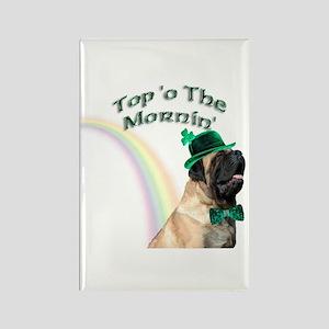 Mastiff Mornin' Rectangle Magnet