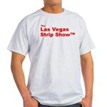 The Las Vegas Strip Show Tm Ash Grey T-Shirt