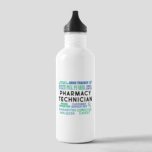 Pharmacy Technician Wo Stainless Water Bottle 1.0L