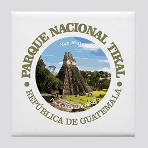 Tikal NP Tile Coaster