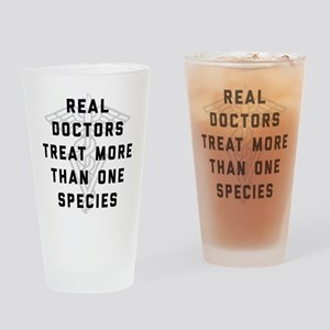 Real Doctors Treat More Than One Sp Drinking Glass