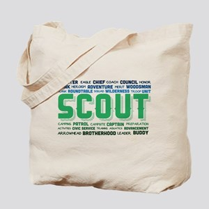 Scout Word Cloud Tote Bag