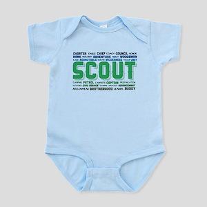 Scout Word Cloud Infant Bodysuit