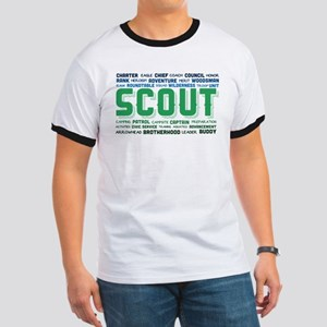 Scout Word Cloud Ringer T