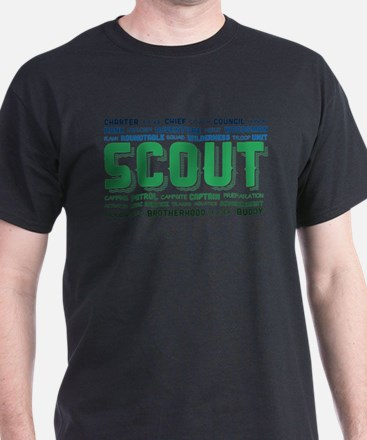 Scout Word Cloud T-Shirt