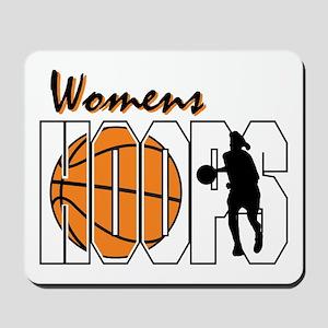 Women's Hoops Mousepad