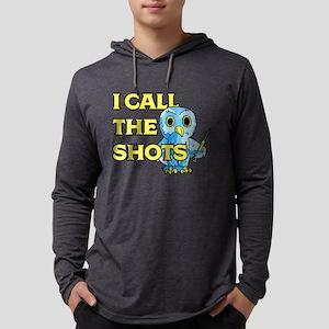 I Call The Shots Mens Hooded Shirt