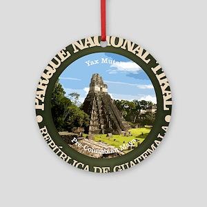 Tikal NP Round Ornament