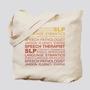 Speech Therapist Word Cloud Tote Bag