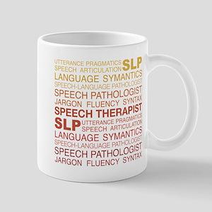 Speech Therapist Word Cloud 11 oz Ceramic Mug