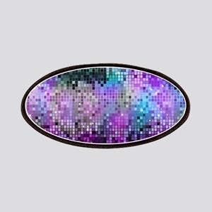 Disco Mirrors in Purple and Green Patch