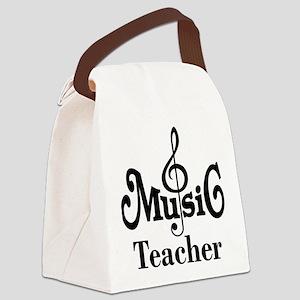 Music Teacher stylish Canvas Lunch Bag