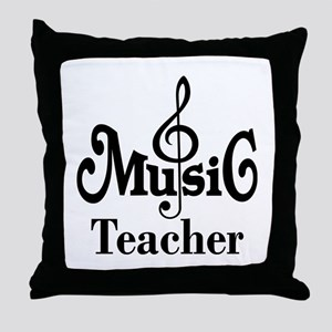 Music Teacher stylish Throw Pillow