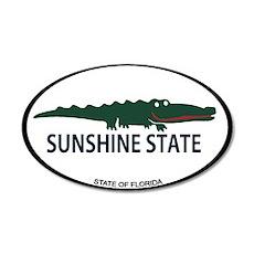 Sunshine State - Alligator Design. Wall Decal