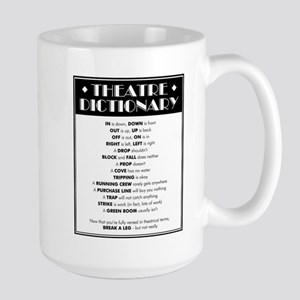 Theatre Dictionary 15 oz Ceramic Large Mug