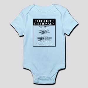 Theatre Dictionary Infant Bodysuit