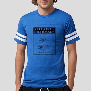 Theatre Dictionary Mens Football Shirt
