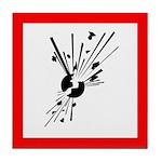 Explosive Substance Pictogram Tile Coaster